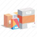 box, boxes, cargo, gift, order, shipment, shopping icon