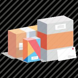 box, boxes, cargo, gift, order, shipment, shopping icon