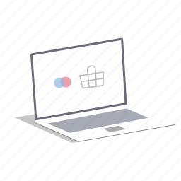 computer, laptop, order, pc, personal computer, shopping icon