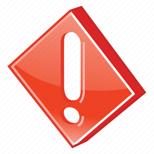 accident, alarm, alert, attention, beware, caution, cautious, damage, danger, error, exception, exclamation, exclamation mark, exit, hazard, help, important, mark, message, problem, prompt, protection, risk, safe, safety, signal, stop, warning icon