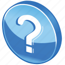 help, info, information, query, question, support icon