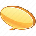 about, bubble, bulb, chat, comment, comments, communication, hint, idea, info, information, message, speech, talk, tip icon