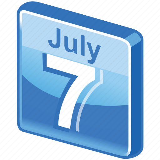 calendar, date, day, event, july, month, plan, schedule, time, timetable icon