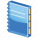 address, inventory, package, pocket book, record, recording, records, storage icon