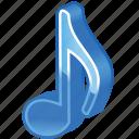 audio, harmony, media, melody, midi, music, note, notes, play, player, sound, speaker, volume icon