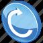arrow, media, refresh, reload, renew, repeat, right, rotate icon