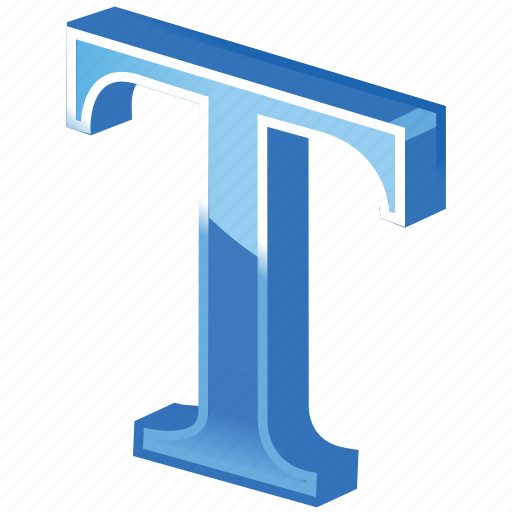 letter, letter t, text, textual icon