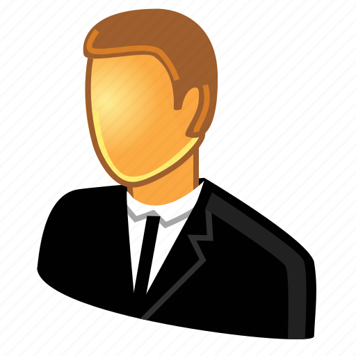 account, boss, businessman, chief, client, customer, guy, male, man, manager, person, profile, staff, user icon