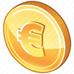 cash, cent, coin, currency, dollar coin, euro, euro coin, german, gold, gold coin, money icon