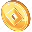 cash, coin, currency, fengshui, lucky, money icon