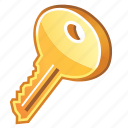 key, locked, password, protection, public key, secure, secured, security icon