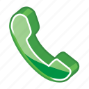 call, dial, number, phone, receiver, ring, telephone icon