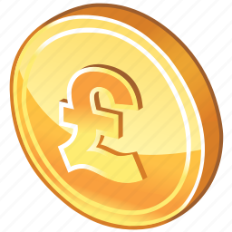cash, coin, currency, england, english, gold, golden, money, payment, pound, price icon