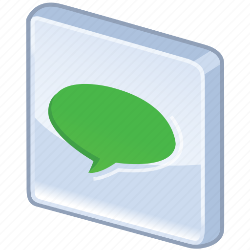 announcement, bubble, chat, comment, comments, communication, forum, glossy, green, information, message, msn, report, sms, speech, statement, talk, text, verdancy, vert, voice icon