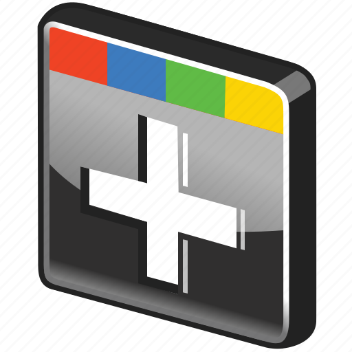 g+, glossy, google, google plus, play, plus, search icon