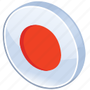 bullseye, button, circles, dot, glossy, media, record, round, sound icon