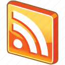 blog, feed, glossy, multimedia, news, news feed, rss, social, square, subscribe, web icon