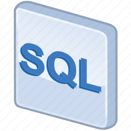 glossy, language, query, sql, structured icon
