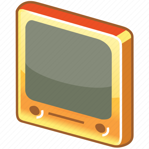 film, glossy, media, monitor, movie, play, player, screen, television, tube, tv, video, youtube icon