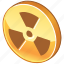 alert, atom, atomic, attention, danger, error, exclamation, experiment, explosion, lab, laboratory, nuclear, physics, problem, radioactive, research, science, warning icon