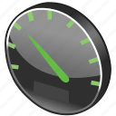 clock, dashboard, gauge, measure, meter, ruler, speed, units, widget, widgets icon