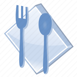 breakfast, caffe, cook, cooking, dinner, eating, food, fork, kitchen, restaurant, spoon icon