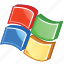 bill gates, desktop, developers, development, flag, logo, logotype, microsoft, ms, office, pc, redmon, soft, software, win, window, windows, wintel, xp icon