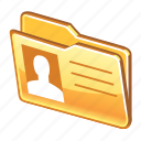 data, details, files, folder, person, profile icon