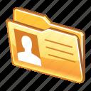 data, details, files, folder, person, profile icon