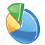 chart, charts, diagram, graph, graphs, pie, pie-chart, report, statistics icon