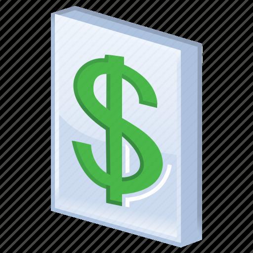 business, cash, dollar, ecommerce, finance, finances, financial, list, listing, money, price, pricelist, shopping icon