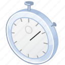 clock, measure, meter, time, timer, wait, watch icon