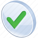 accept, check, checkmark, mark, ok, success, test, tick, valid, validation, yes icon
