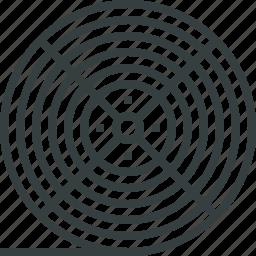 coil, filament, material, plastic, printer, printing, reel icon