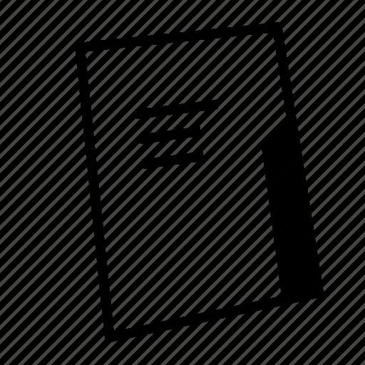 document, file, folder, holder, office, paper, work icon