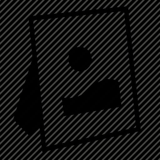 file, image, photo, picture, portrait icon