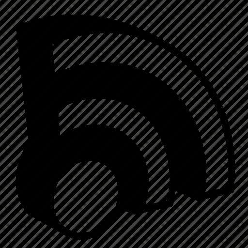 internet, radio, reception, signal, wave, wifi icon