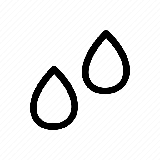 drops, liquid, print 3d, rain, tool, water icon