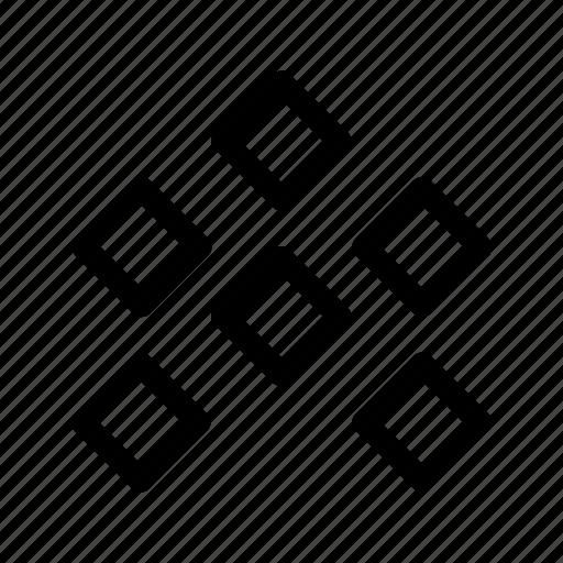 filament, pellets, print 3d, printing 3d icon