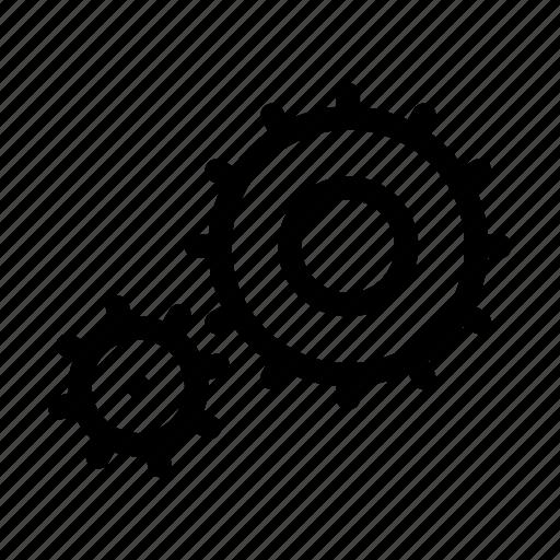 option, print 3d, sprocketwheels, tool, wheel icon