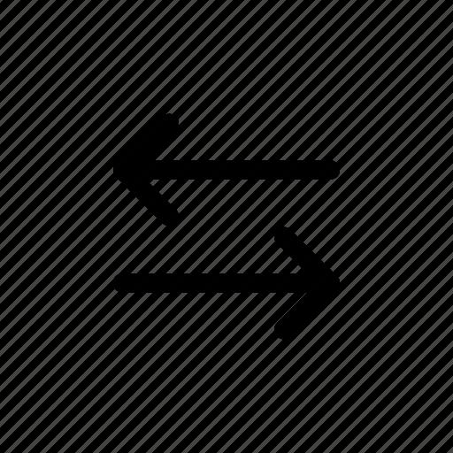 arrows, direction, navigation, print 3d, send, transfer icon