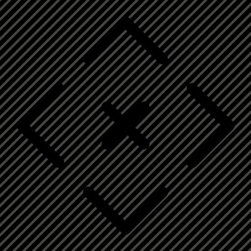 calibration, cancel, cross, print 3d, remove, x icon