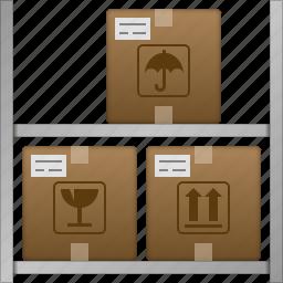 goods, logistic, shipping, storage, store, transportation, warehouse icon