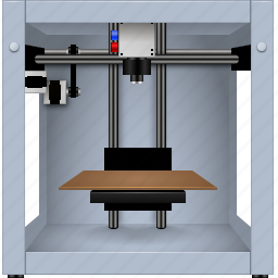 3d printer, construction, copier, maker, makerbot, printing, replicator icon