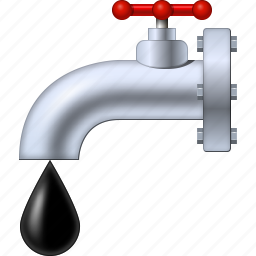 drop, oil drops, pipe, piping, plumbing, tap, water source icon