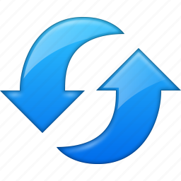 arrows, connection, exchange, refresh, rotate, sync, update icon