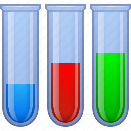 check, medical analysis, medicine, science, search, test tubes, tool icon