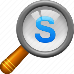 explore, magnifying glass, scale, search, show, view, zoom icon