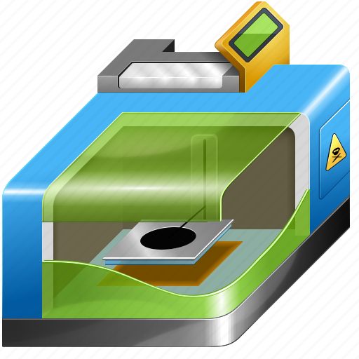 3d printing, 3dprinter, additive technology, equipment, print, printer, replicator icon