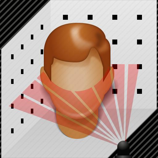3d scan, 3dscanning, laser scanner, model, modeling, plastic head, scanning icon